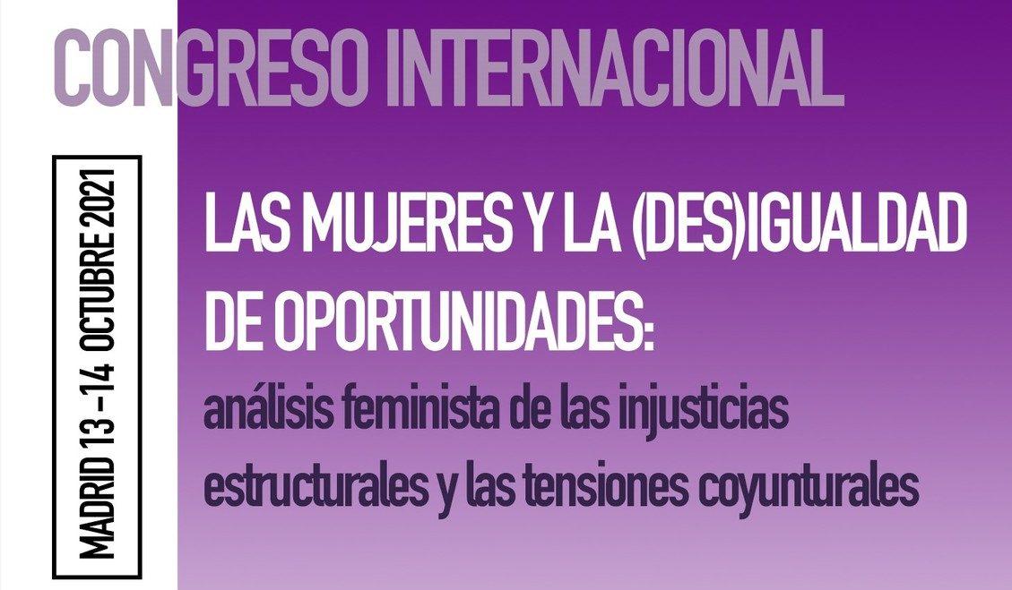 Congreso Internacional: las Mujeres y la (des)igualdad de oportunidades